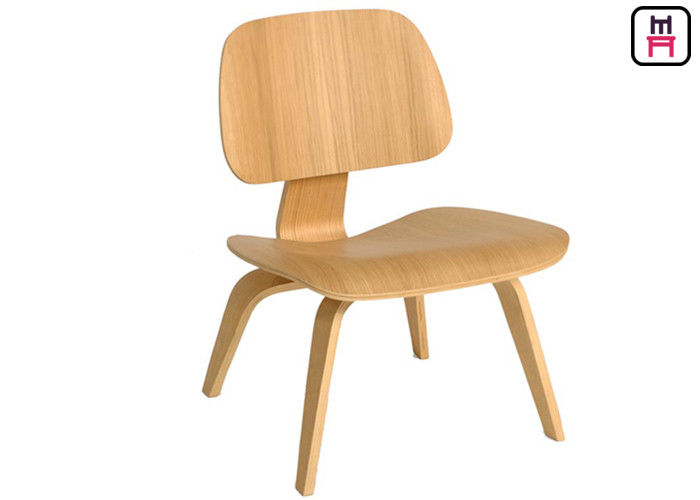 Eames LCW Armless Wood Restaurant Chairs Modern Furniture For Bar / Hotel / Event