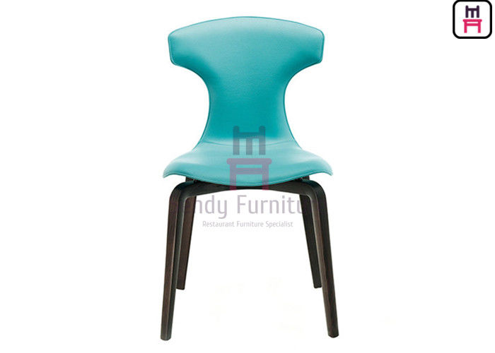 Montera Wings Furniture Dining Chairs Leather / Ash Wood Feets Solid Structure